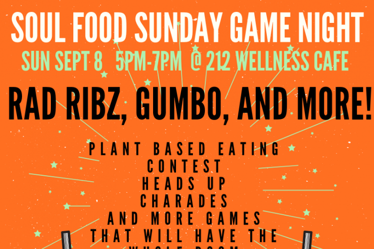 Soul Food Sunday Game Night